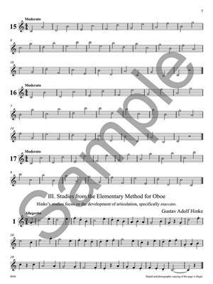 Yuri Maizels: Selected Studies for Oboe Vol. 1: Oboe