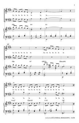 Benj Pasek: La La Land: Mixed Choir