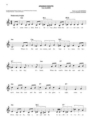 The Easy Disney Fake Book - 2nd Edition: C Clef Instrument