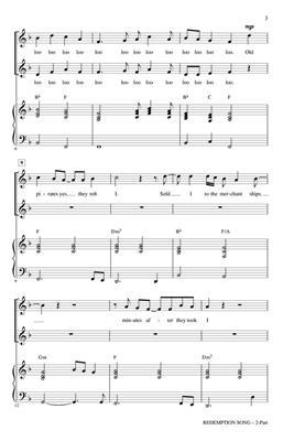 Redemption Song: Arr. (Mac Huff): 2-Part Choir