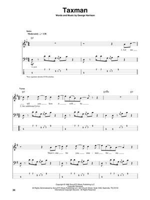 The Beatles: Bass Play-Along Volume 13: Bass Guitar