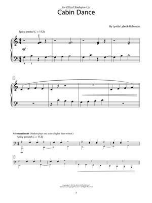 Lynda Lybeck-Robinson: Whispering Woods: Piano or Keyboard
