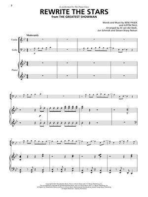 Benj Pasek: Rewrite the Stars: Piano Trio