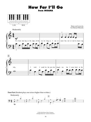 Disney Latest Movie Hits: Piano or Keyboard