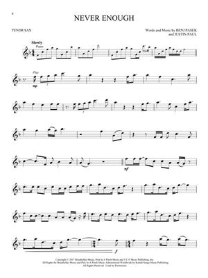Benj Pasek: The Greatest Showman - Tenor Saxophone: Saxophone