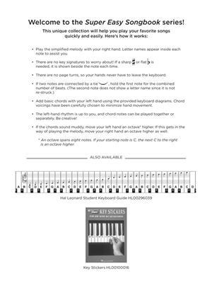 Christmas Carols - Super Easy Songbook: Piano or Keyboard