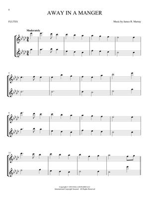 Christmas Carols for Two Flutes: Flute