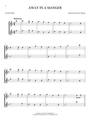 Christmas Carols for Two Alto Saxes: Saxophone