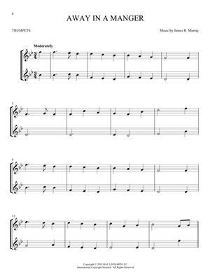 Christmas Carols for Two Trumpets: Trumpet, Cornet or Flugelhorn