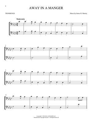 Christmas Carols for Two Trombone Duets: Trombone