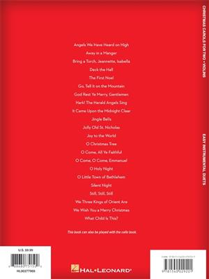Christmas Carols for Two Violins: Violin