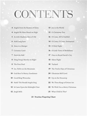 Christmas Carols for Ocarina: World- and Folk instruments