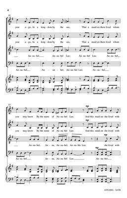 Timothy C. Takach: Annabel: Double Choir