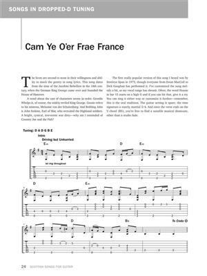 Danny Carnahan: Scottish Songs for Guitar: Guitar or Lute