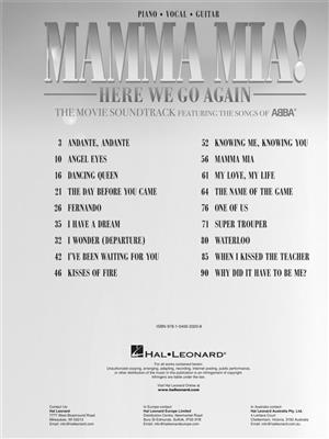 ABBA: Mamma Mia! Here we go again: Piano, Vocal and Guitar (songbooks)