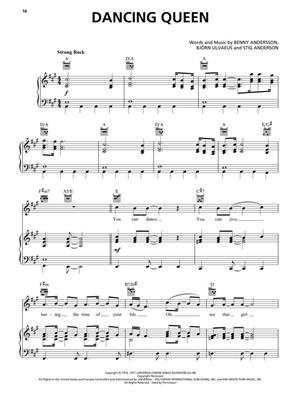 ABBA: Mamma Mia! Here we go again: Piano, Vocal and Guitar
