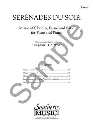Serenades du Soir: Flute