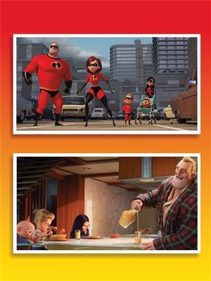 Michael Giacchino: Incredibles 2: Piano or Keyboard