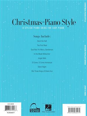 John S. Hord: Christmas - Piano Style: Piano or Keyboard
