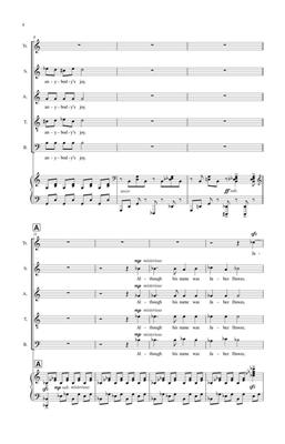 Eric Whitacre: The Boy Who Laughed At Santa Clause: SATB