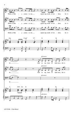 John Lennon: Let It Be: Arr. (Roger Emerson): 3-Part Choir