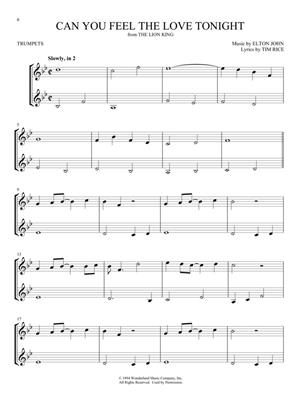 Disney Songs for Two Trumpets: Arr. (Mark Phillips): Trumpet Duet