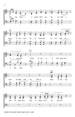 Brad Nix: Come to Calvary's Holy Mountain: Arr. (James Montgomery): SATB