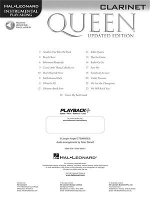Queen: Queen - Clarinet (Book/Audio): Clarinet