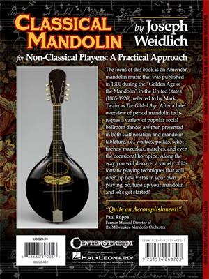 Joseph Weidlich: Classical Mandolin: Banjo or Mandolin