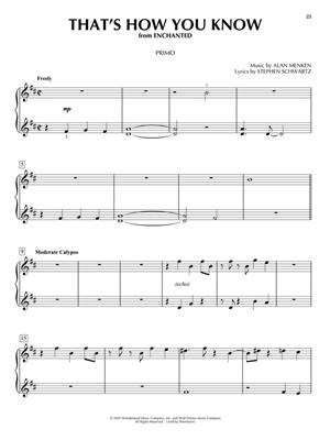 Favorite Disney Songs for Piano Duet: Piano Duet