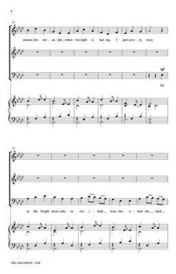 The Ash Grove: Arr. (Philip Lawson): Mixed Choir a Cappella