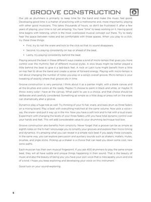 Drumset Concepts & Creativity: Drum Kit