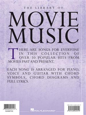 Library of Movie Music: Piano, Vocal, Guitar