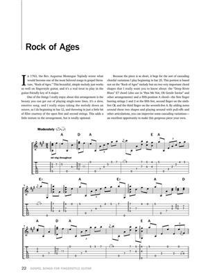 Gospel Songs for Fingerstyle Guitar: Guitar