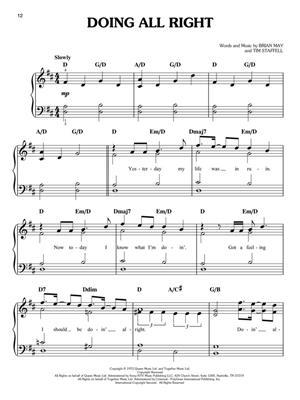 Queen: Bohemian Rhapsody: Easy Piano