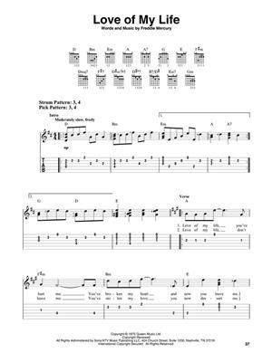 Queen: Bohemian Rhapsody: Guitar