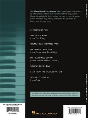 Movie Favorites: Piano Duet