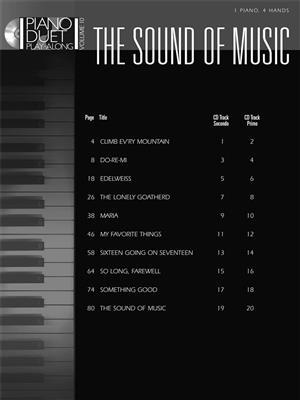Oscar Hammerstein II: The Sound of Music: Piano Duet