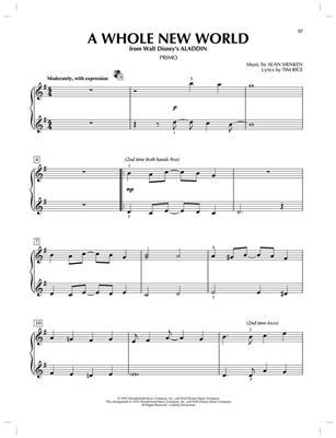 Disney Movie Songs: Piano Duet