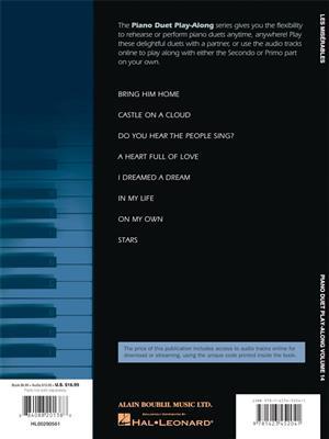 Alain Boublil: Les Misérables: Piano Duet