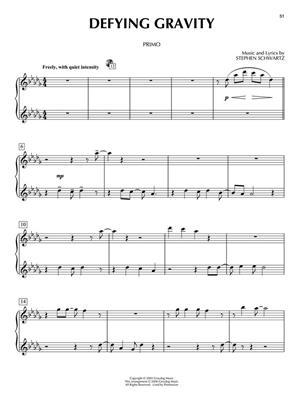 Stephen Schwartz: Wicked: Arr. (Carol Klose): Piano Duet