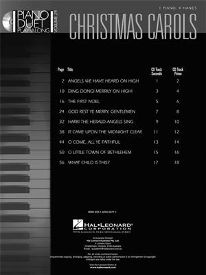 Christmas Carols: Piano Duet