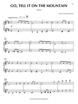 Christmas for Two: Piano Duet