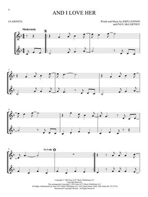 The Beatles for Two Clarinets: Clarinet Duet