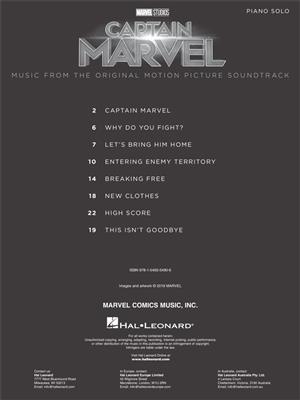 Pinar Toprak: Captain Marvel: Piano