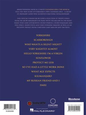 Gary Barlow: Calendar Girls: The Musical: Piano, Vocal, Guitar