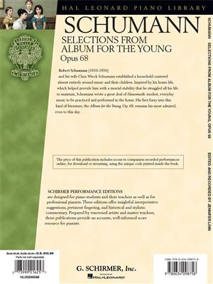 Robert Schumann: Selections From Album For The Young Op.68: Piano