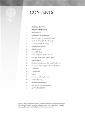 Cornelius Gurlitt: Albumleaves for the Young, Opus 101: Piano