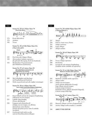 Ludwig van Beethoven: Piano Sonatas - Volume 2: Piano