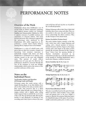 Robert Schumann: Scenes From Childhood Op.15: Piano